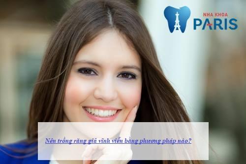 trồng răng giả vĩnh viễn