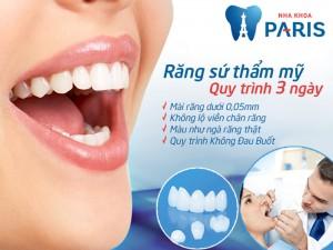 Chụp răng sứ thẩm mỹ giải pháp phục hình răng TỐT nhất hiện nay