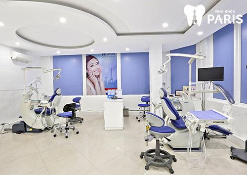 Làm cầu răng sứ có đau không với hệ thống thiết bị tại NK Paris