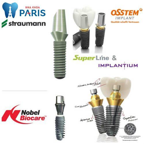 Trồng răng implant giá bao nhiêu tiền với CN cấy ghép implant 4S? 4