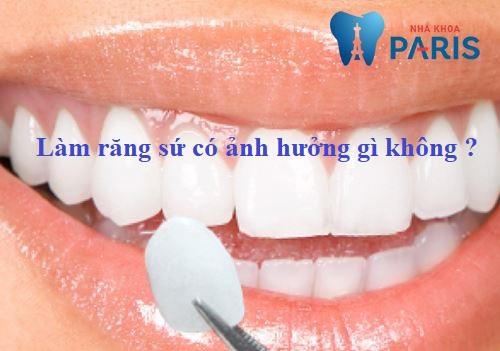 Giải đáp từ chuyên gia: Làm răng sứ ảnh hưởng gì? có hại gì không? 1