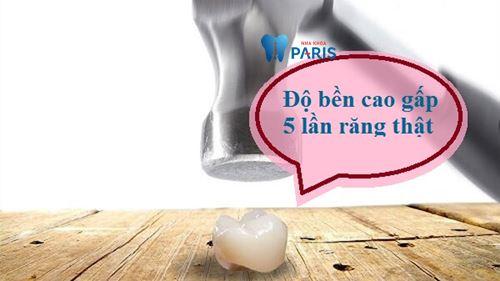 Răng sứ cercon - Giải pháp thay thế răng Bền & Đẹp vĩnh viễn 2
