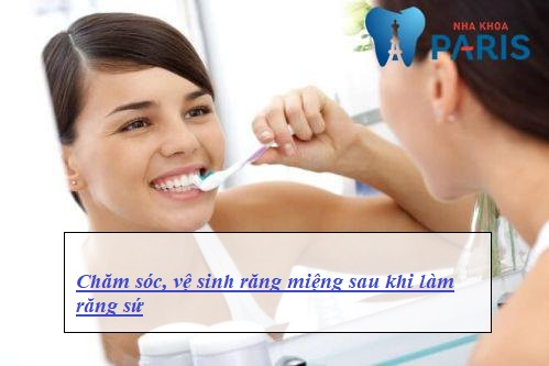 sau khi làm răng sứ cần lưu ý gì2