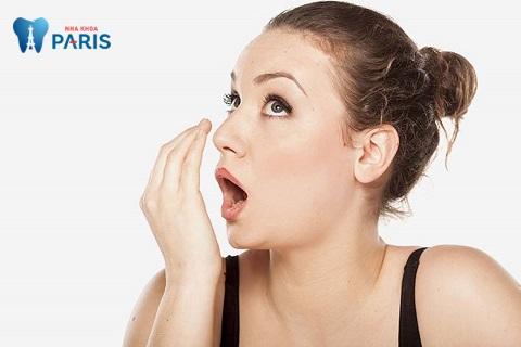 Bị hôi miệng sau khi làm cầu răng do rất nhiều nguyên nhân khác nhau