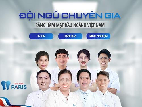Nha khoa Paris hội tụ đội ngũ bác sĩ giàu kinh nghiệm