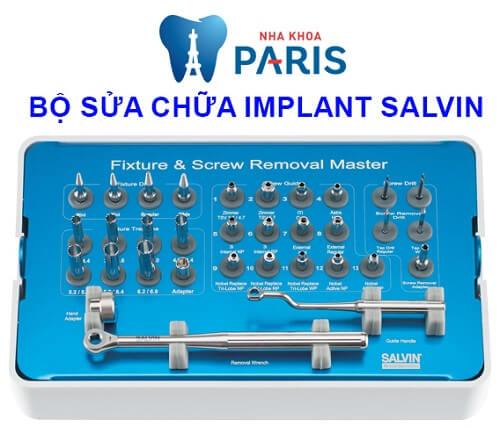 bộ sửa chữa răng implant bị lung lay