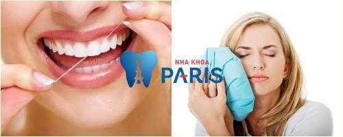 Chường đá, vệ sinh răng miệng thật tốt đểgiảm sưng tấy sau khi cấy ghép Implant