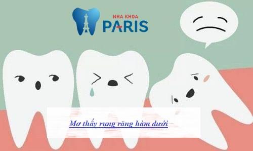 Mơ thấy rụng răng báo hiệu điều gì? Chuyên gia giải đáp 1