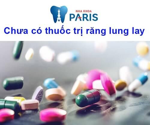 Răng bị lung lay uống thuốc gì