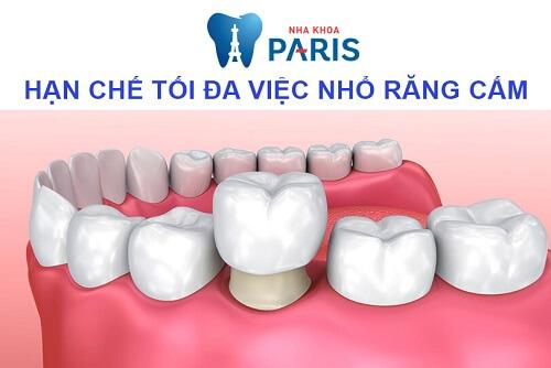 Răng cấm có thay không