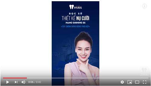 Video giới thiệu công nghệ bọc răng sứ Nano Shining 5s